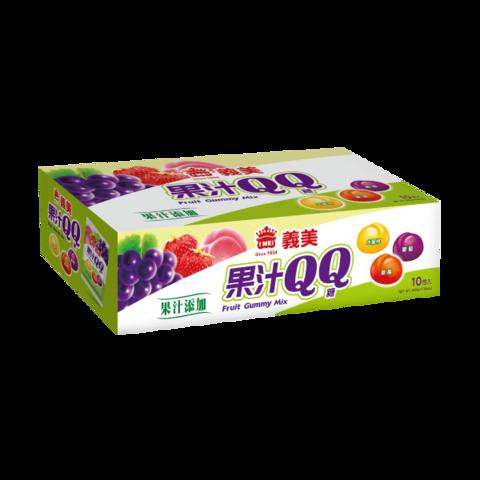 寶吉果汁QQ糖-綜合果汁(10入/盒)