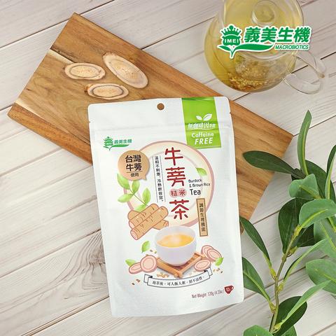 【義美生機】牛蒡糙米茶