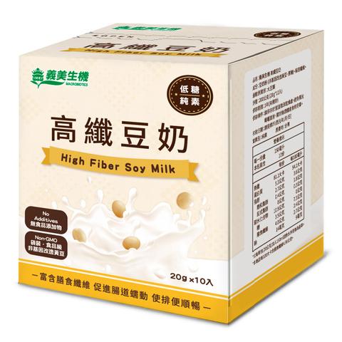 【義美生機】高纖豆奶