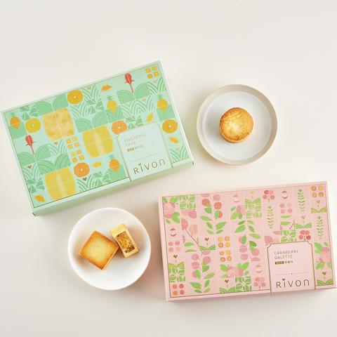 【Rivon禮坊】原味鳳梨酥9入禮盒