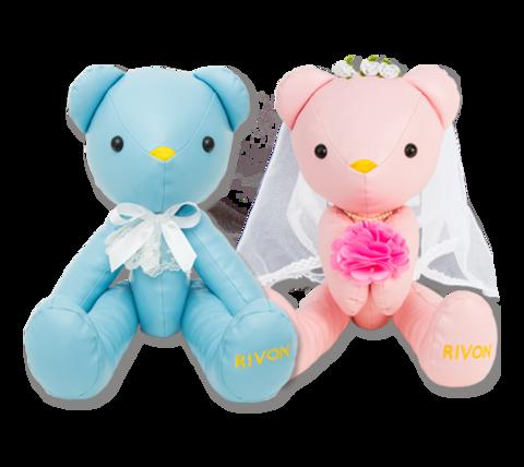 【禮坊Rivon】洛可可系列-簽名洛可可對熊