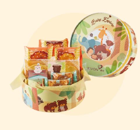 【禮坊Rivon彌月試吃】禮盒-寶貝探險隊系列