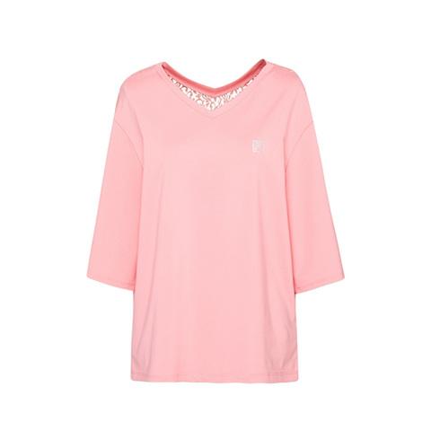 FILA 七分袖T恤-粉色 5TEV-1603-PK