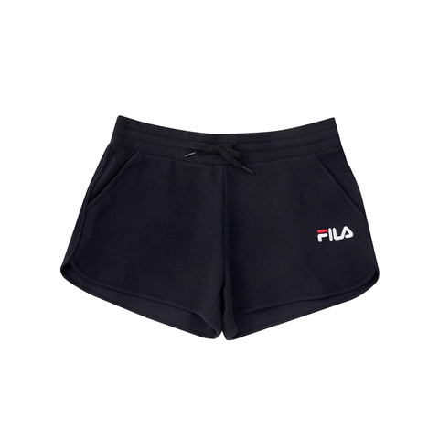 FILA 針織運動短褲-黑 5SHV-1510-BK