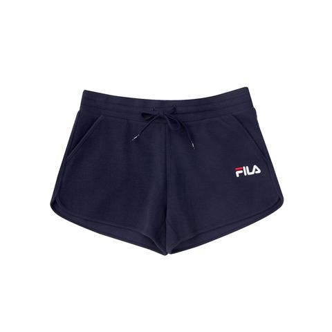 FILA 針織運動短褲-丈青 5SHV-1510-NV