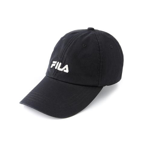 FILA 時尚LOGO帽-黑 HTV-1003-BK