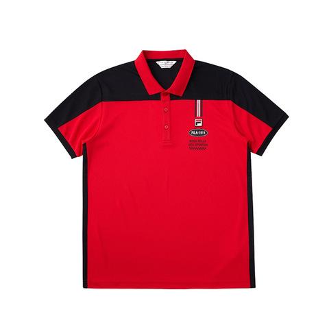 FILA POLO衫-紅色 1POV-1706-RD