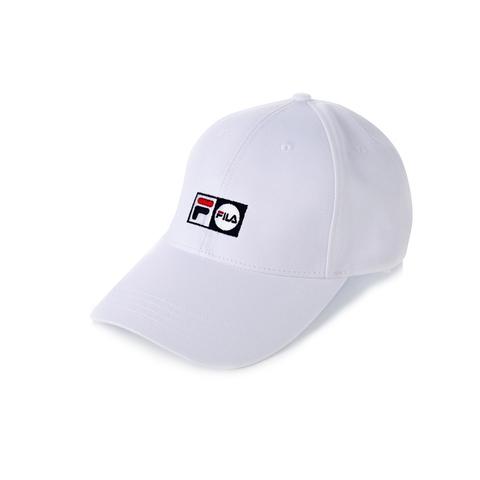 FILA 時尚LOGO帽-白 HTV-1002-WT