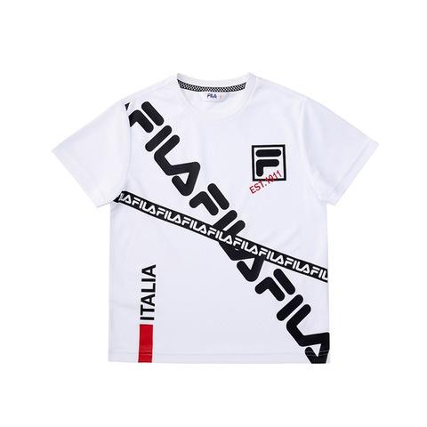 FILA KIDS 吸排上衣-白色 1TEV-4445-WT