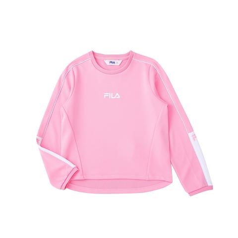 FILA KIDS 長袖上衣-粉紅 5TEU-8312-PK