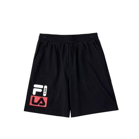 FILA KIDS 針織5分褲-黑 1SHV-4903-BK
