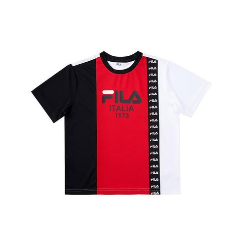 FILA KIDS 吸排上衣-紅色 1TEV-4424-RD