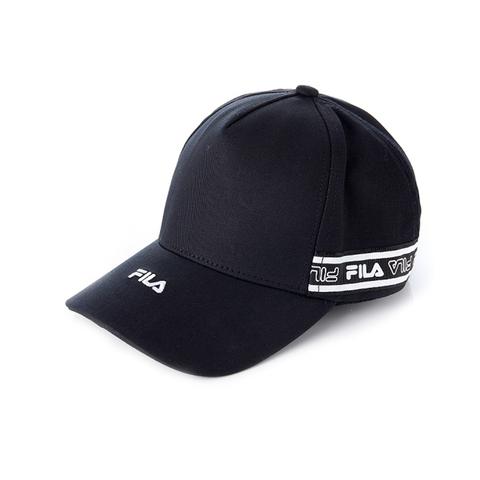 FILA KIDS 時尚LOGO帽-黑 HTV-4001-BK