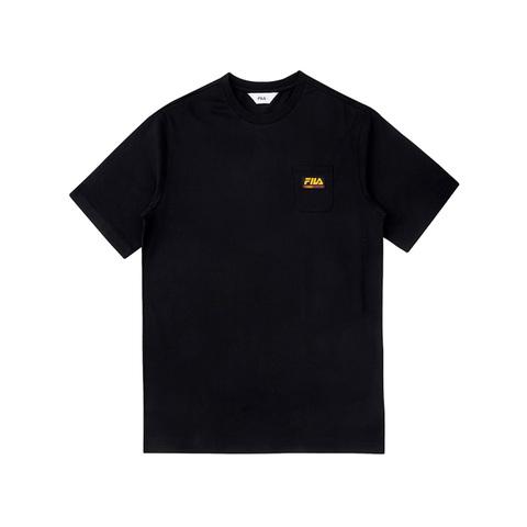 FILA 圓領上衣-黑 1TEV-1507-BK