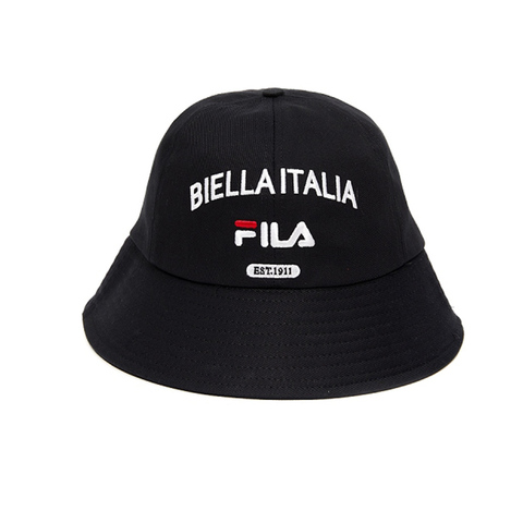FILA KIDS 時尚漁夫帽/筒帽-黑 HTV-4008-BK