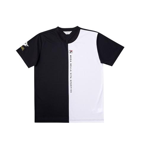 FILA 圓領T恤-黑色 1TEV-1702-BK
