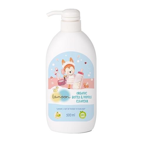 Lamoon Baby 有機奶蔬清潔液/500ml