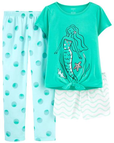 Carter's 沉睡的美人魚3件組套裝(5-8)