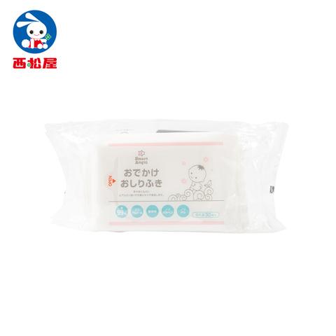 西松屋 Smart Angel 日本製99%水濕紙巾(30抽)