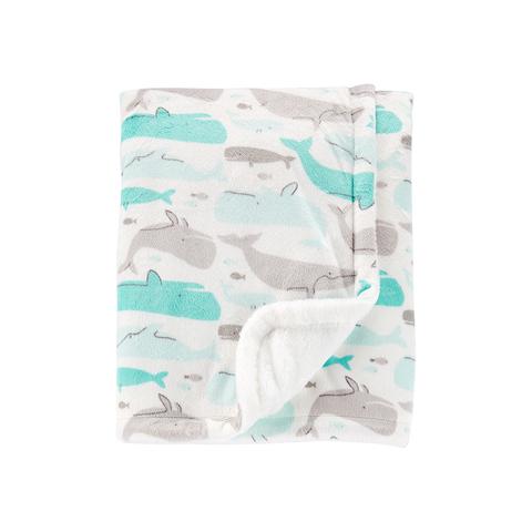 Carter's 台灣總代理 海洋海豚包巾(OSZ)