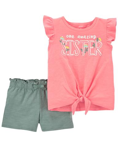 Carter's 驚奇姊妹2件組套裝(2T-5T)