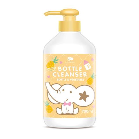 les enphants 麗嬰房 奶瓶蔬果酵素洗潔液-鳳梨香 700ml
