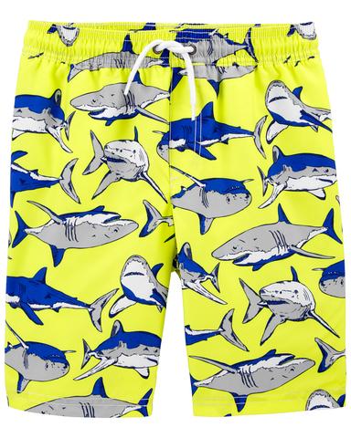 Carter's 淘趣大鯊魚泳褲(5-8)