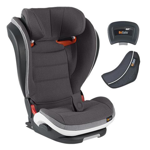 BeSafe iZi Flex FIX 成長型兒童汽車安全座椅-精靈灰