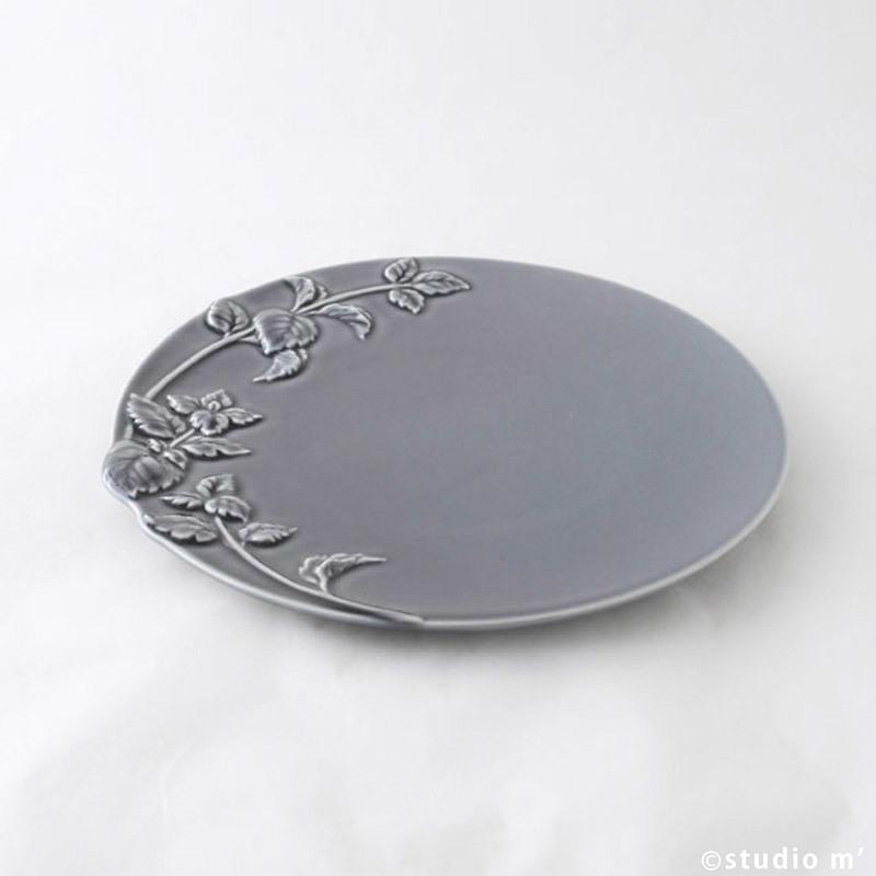 Mint薄荷浮雕盤