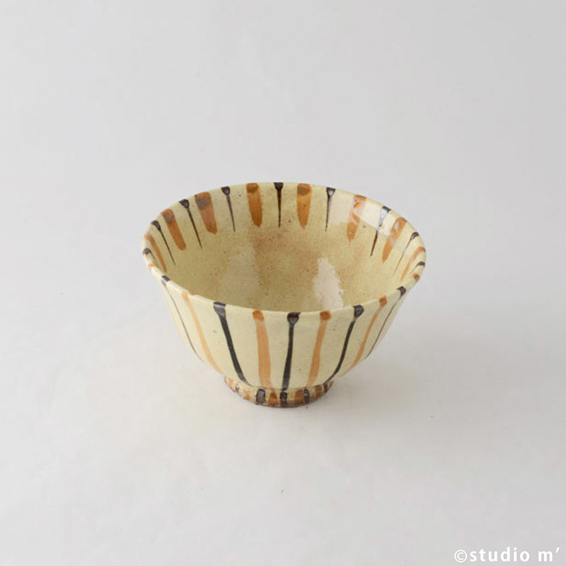 麥稈紋飯碗